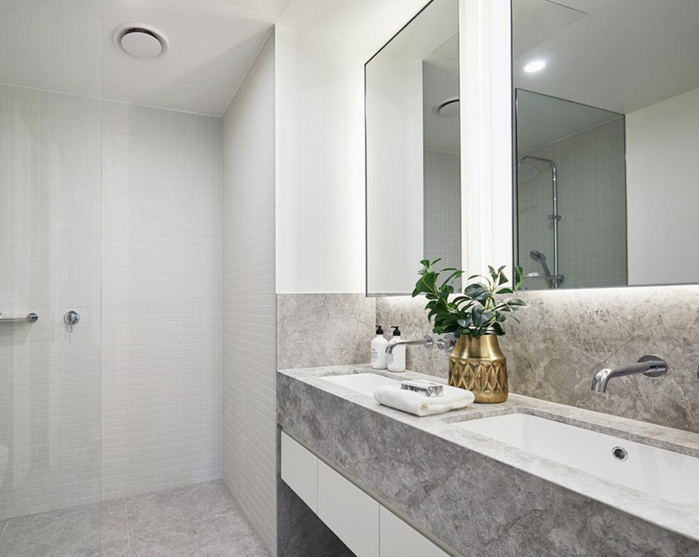Bathroom at Pavilions Blackburn Lake